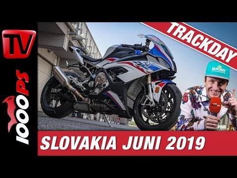 BMW S 1000 RR 2019 Feuertaufe - 1000PS Trackdays Slovakiaring Juni