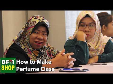 How to make perfume Class