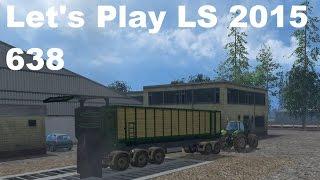 Let's Play Landwirtschafts Simulator 2015 #638 CoursePlay Kurs für die Abfahrer #LS15 HD deutsc