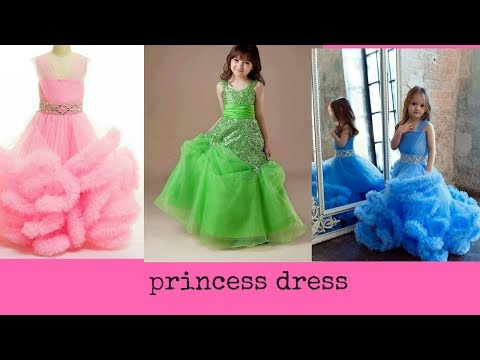 Cute Rose Buds Kids Dress Collection