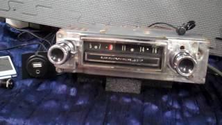 1966 Chevy C10 Pickup Truck original AM radio