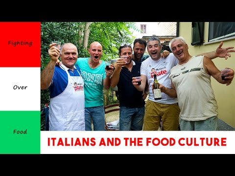 ITALIAN FOOD CULTURE | Italians Fighting Over Food | Get Ready to Laugh
