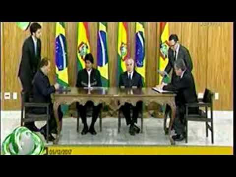 Ministro Romero da a conocer los convenios firmados entre Bolivia y Brasil