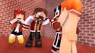 Minecraft: SUPER QUEDA 3 #14 - O NAMORADO DO POKEY?! (c/ Pokey, Miss e Orion)