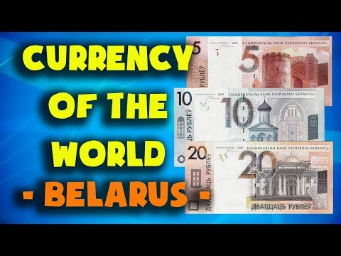 - Currency Of The World - Belarus. Belarusian Ruble. Belarusian Banknotes And Coins