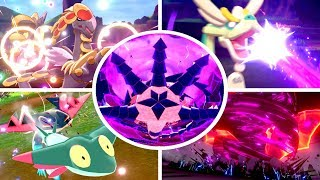 Pokémon Sword & Shield - All Dragon Moves