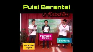 Puisi Berantai Siswa SMP Al Islam Bandung