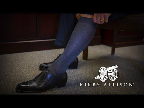 6 Most Important Characteristics Of Quality Dress Socks | Kirby Allison