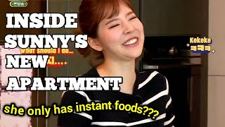 [Eng Sub] Inside SNSD Sunny apartment! Sunny's Home Tour