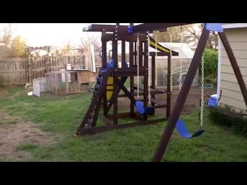 Wooden Playset Restoration