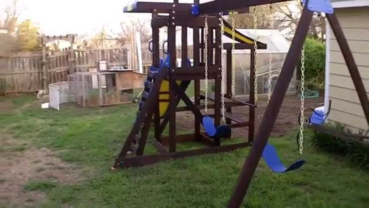 Wooden Playset Restoration   YouTube