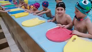 Обучение плаванию начальная группа 3-6 лет