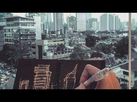 Sketching Jakarta