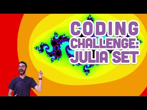 Coding Challenge #22: Julia Set in Processing