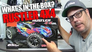Traxxas Rustler 4X4 Unboxed and In Depth - Nice!