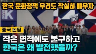 [중국반응] 작은 면적에도 불구하고 한국은 어떻게 발전했을까?