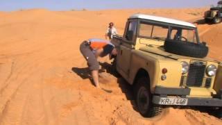 Land Rover in Tunesien