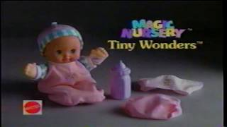 Magic Nursery Tiny Wonders Baby Doll Toy TV Commercial