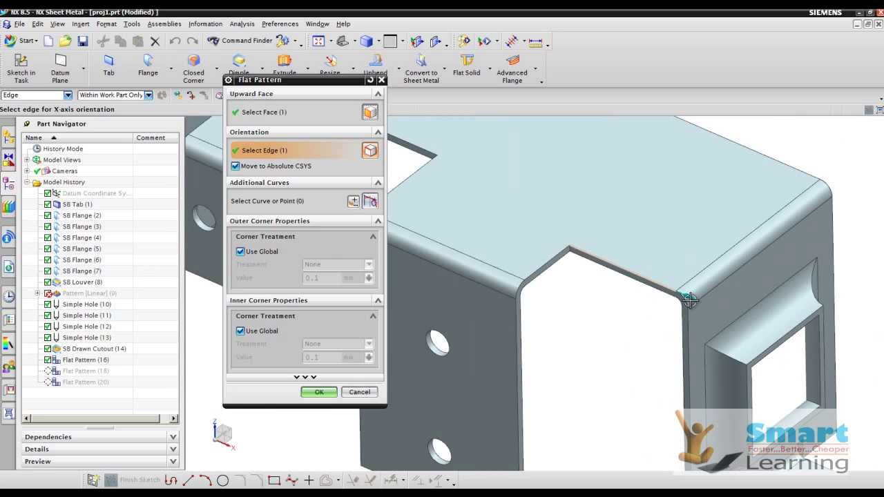 Nx 10 sheet metal designadvanced video trainingtutorials dvd nx 10 sheet metal designadvanced video trainingtutorials dvd youtube baditri Image collections