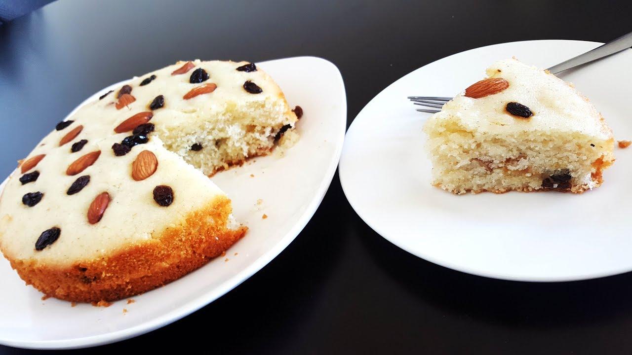Suji Cake Recipe Eggless