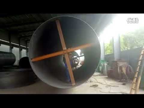 SSAW pipe mill production field