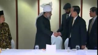 Visit of Singapore by Hadhrat Mirza Masroor Ahmad, Islam Ahmadiyya (Urdu)