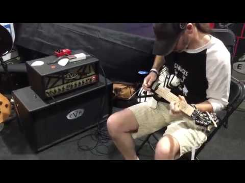 Trying an EVH Wolfgang for the first time!!