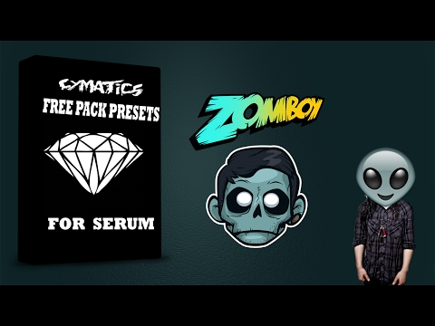 FREE pack presets for Serum (Cymatics) Dubstep & Hybrid Trap 2017 ( Especial :3 )