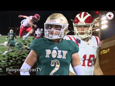 Mater Dei vs Long Beach Poly - JT Daniels GOES ALL OUT!!!