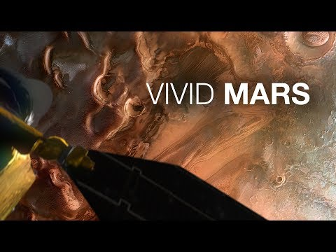 Vivid Mars - MRO HiRISE