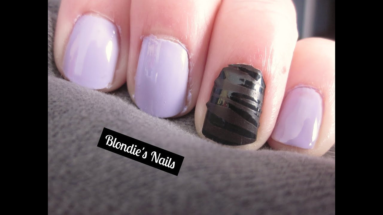 Essie Nail Stickers Review - YouTube