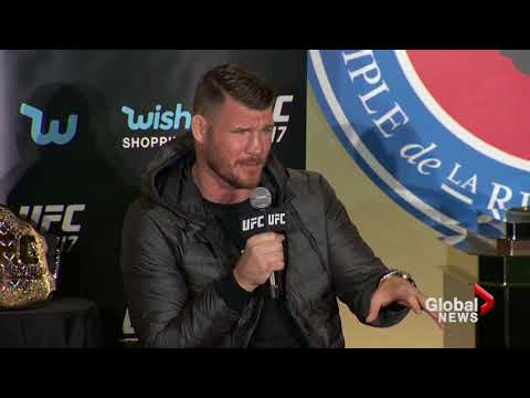 UFC 217 Press conference: GSP, Michael Bisping nearly come to blows in Toronto