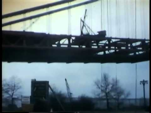 Verrazano Narrows Bridge - Construction & Opening