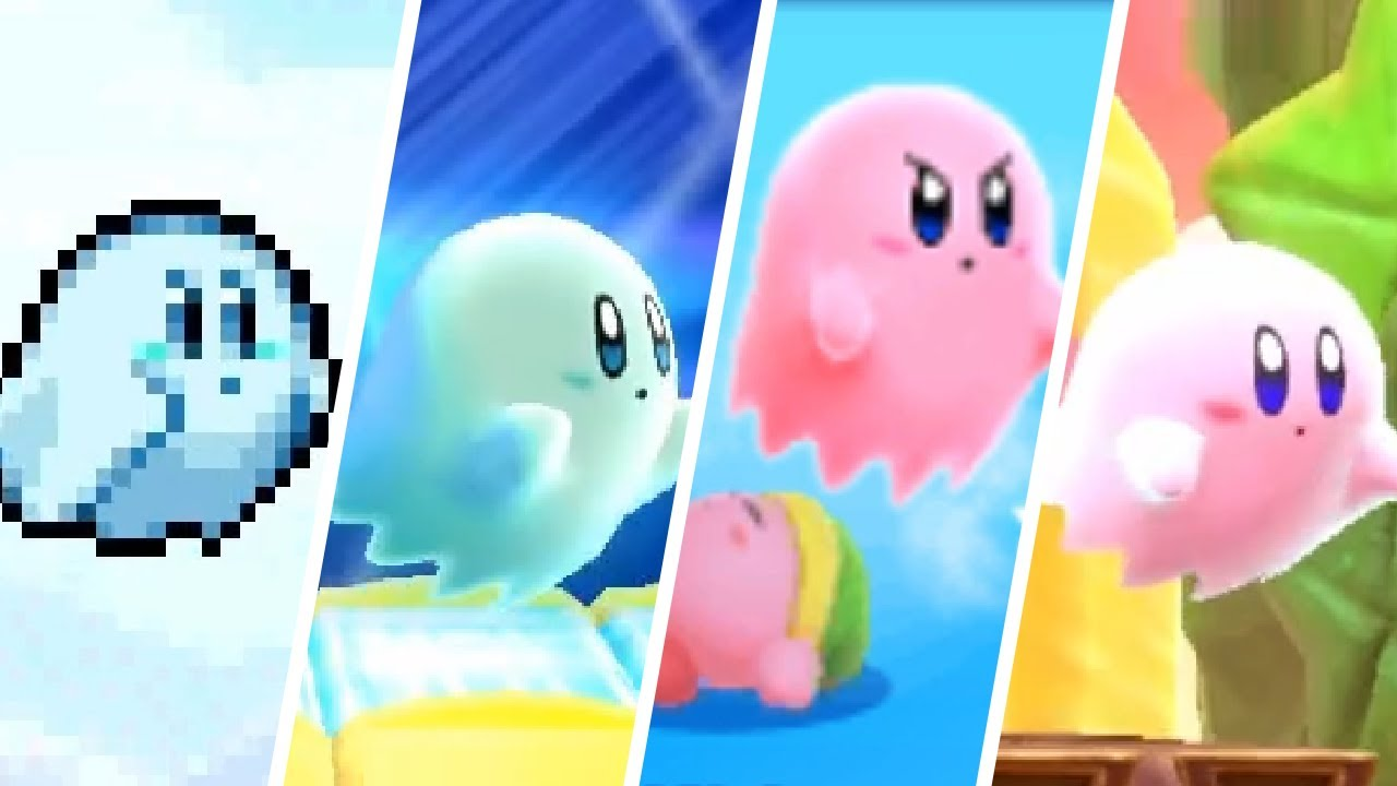 Evolution of Ghost Kirby (2006-2020)