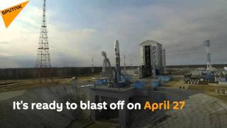 Ready to Go! First Rocket Installed at Russia