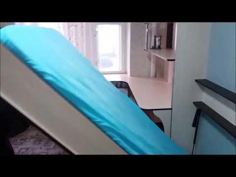 Вертикальная откидная кровать своими руками