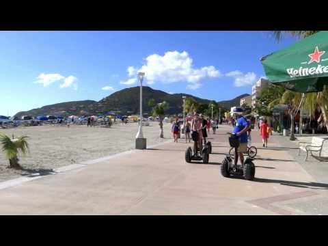 Philipsburg St Maarten in Caribbean Video and Highlights Tour