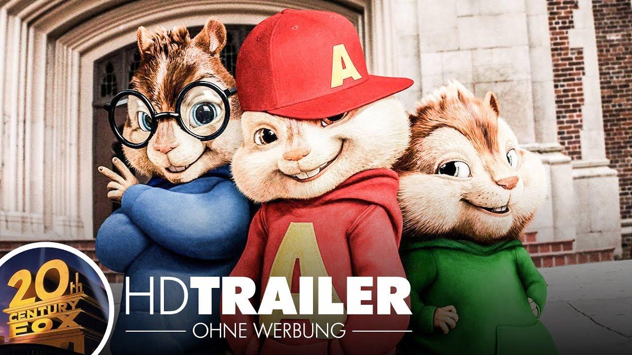 Alvin Und Die Chipmunks 2 Trailer 1 German Deutsch Youtube