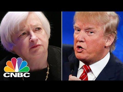 President Donald Trump's Hint Targets Janet Yellen's Future | Squawk Box | CNBC