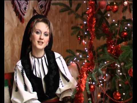 Clip Mirela Manescu Felea - Din cer coboara Sfant Colind.avi