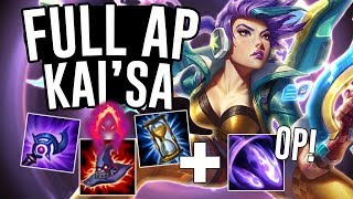 MY FULL AP KAI'SA OUTDAMAGES A FED JINX?! - Off Meta Monday - League of Legends