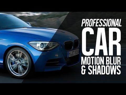Photoshop CC 2014 tutorial Path Blur - Car Rig Retouching
