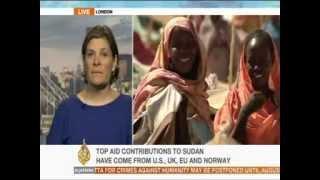 Olivia Warham Al Jazeera interview: ten years of conflict in Darfur