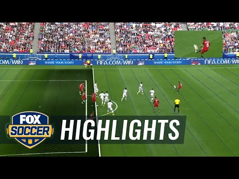 Portugal goal vs. Mexico disallowed by VAR | 2017 FIFA Confederations Cup Highlights