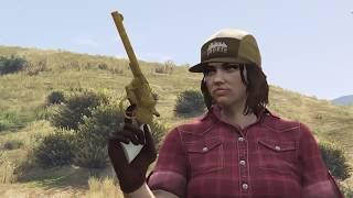 GTA Online Treasure Hunt Double-Action Revolver (Tongva Hills/Two Hoots Falls)