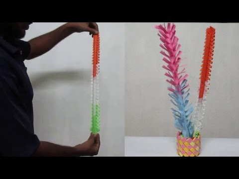 Indian Paper Art - Indian Paper Art Instructions For Beginners (Part - 3)