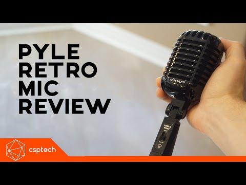 Pyle Dynamic Retro Mic 42 Review!