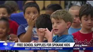 Spokane community center offering free school supplies, haircuts at upcoming event