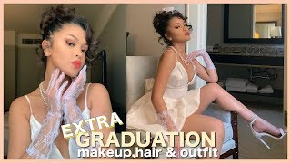 AN EXTRA GRADUATION GRWM: Makeup, Hair + Outfit Ideas