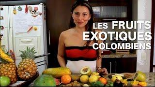 Fruits exotiques colombiens